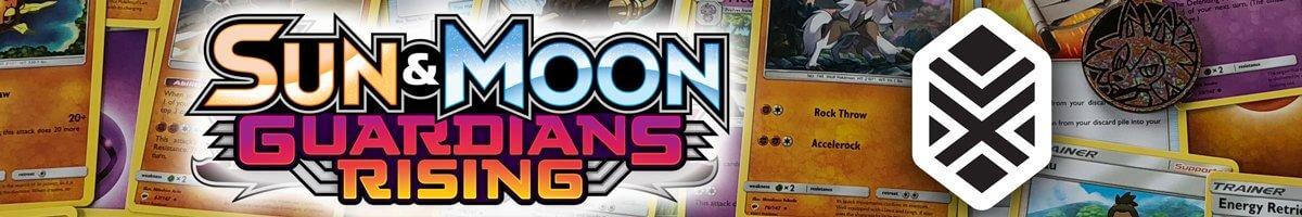 Pokemom Sun and Moon Guardians Rising set list