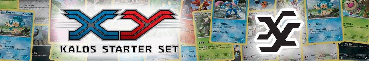 Pokemon Kalos Starter Set List